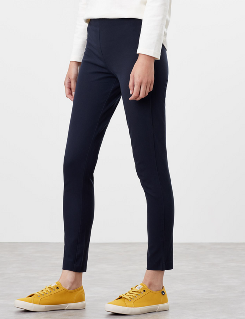 Black stretch cigarette pant