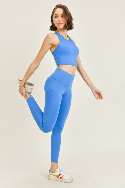 cobalt blue legging