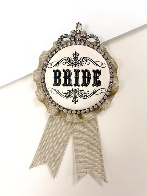 Bride brooch, bride award