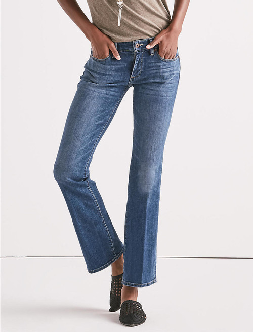 Lucky Brand sweet bootcut jean in ocean road