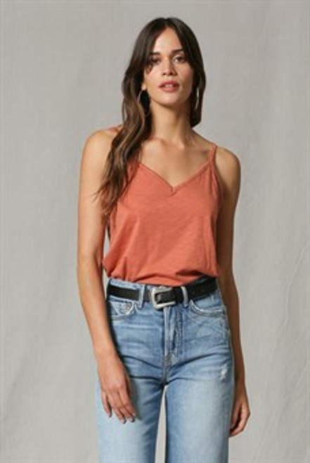Burnt orange camisole
