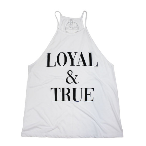 Loyal and true tank, oklahoma state university game day apparel