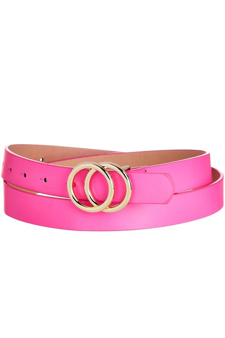Linked Up Belt Pink