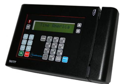 TA777 Barcode Badge Time Clock