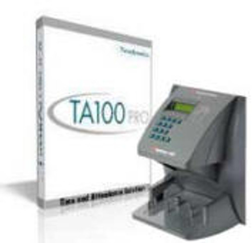 Time America TA100 Pro Software and HP3000 Time Clock Bundle
