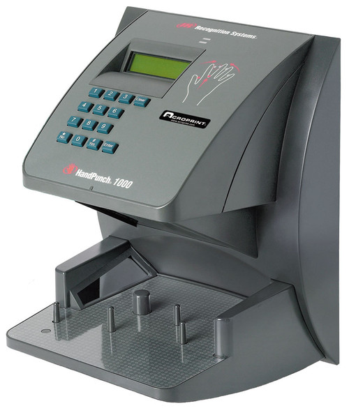Acroprint Hand Punch 3000 Biometric Time Clock with Ethernet