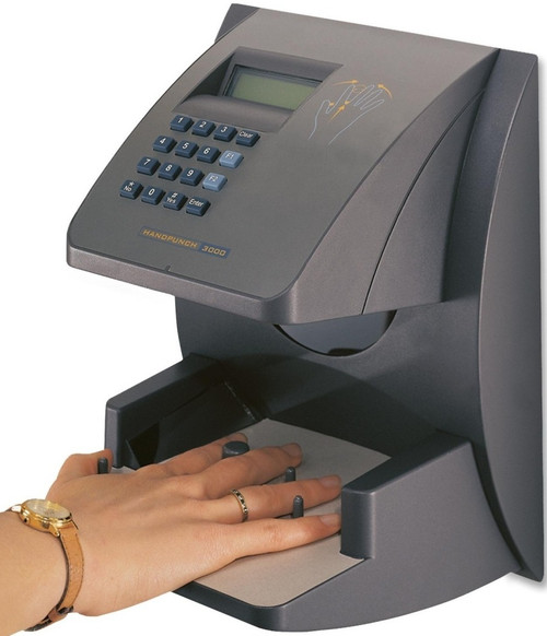 Amano Hand Punch 3000E Biometric Time Clock with Ethernet