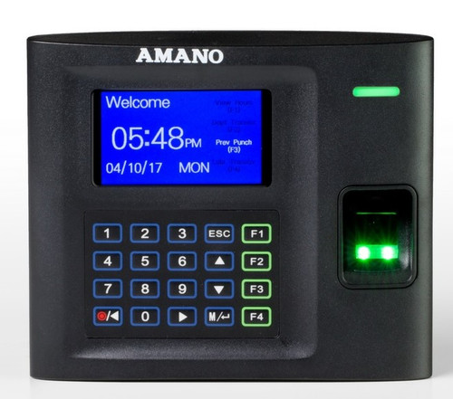 Amano MTX-30 Biometric Fingerprint