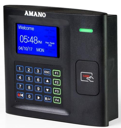 Amano MTX-30 Proximity Time Clock Angle