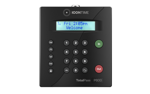 Icon Time Total Pass Proximity P600