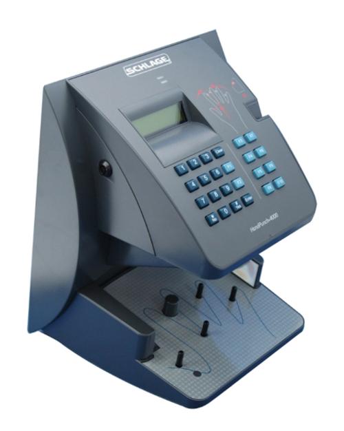 Amano HandPunch 4000 Biometric Time Clock