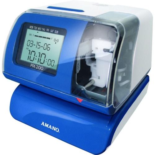 Amano PIX 200 Time Clock Bundle