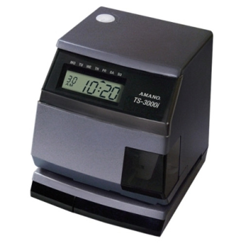 Amano TS-3000i Automatic Time Sync Web Clock - OATS Compliant