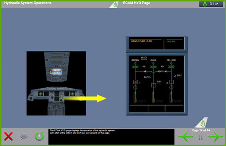 Airbus A320  Computer Based Training Course