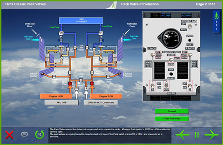 Boeing 737 Classic Computer Based Training Course