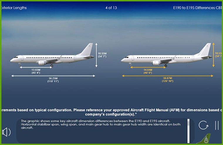 Embraer  EMB-190/195 Computer Based Training Course