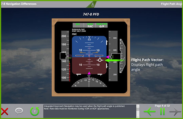 Boeing 747 Computer Based Training Course
