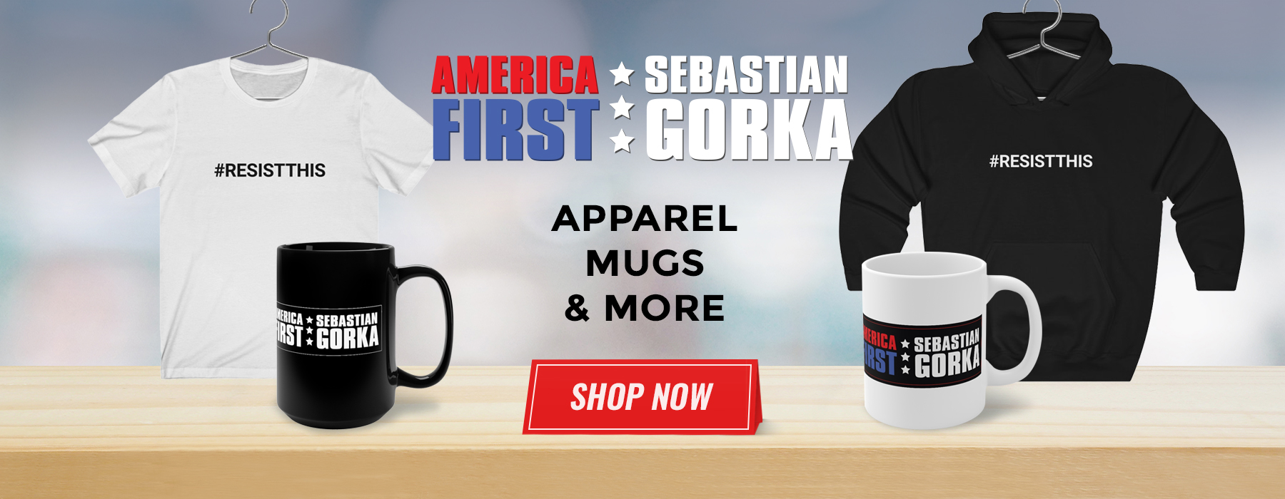 Apparel, Mugs and More - Shop Now