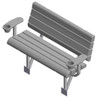 Arm Rests for Lakeview Bench