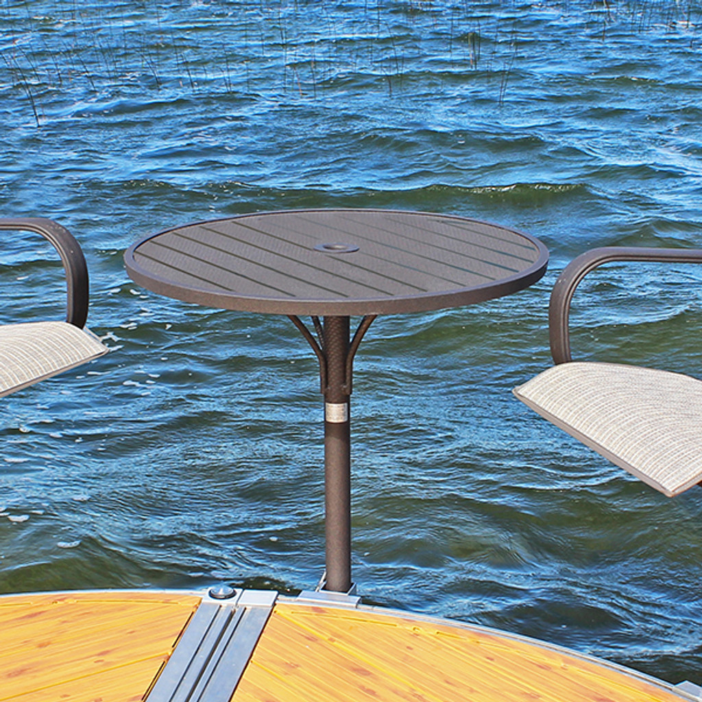 "24"" Round Dock Table"