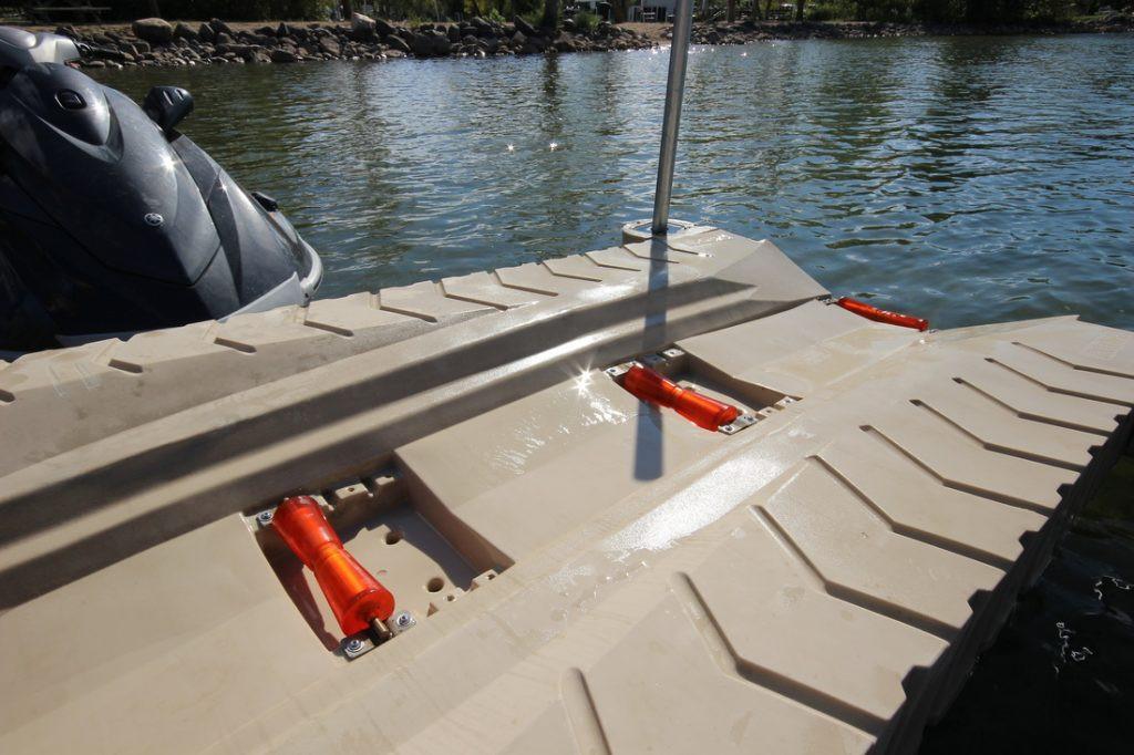 ShorePort Front & Middle Keel Roller