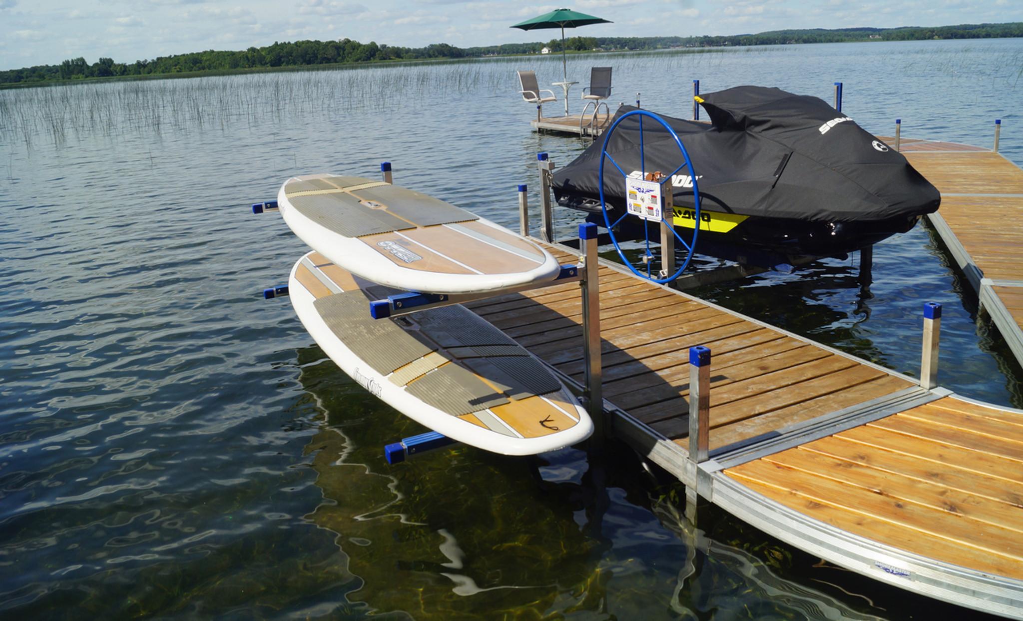 Paddle Board Rack >> Paddleboard Kayak Rack The Shore Shack