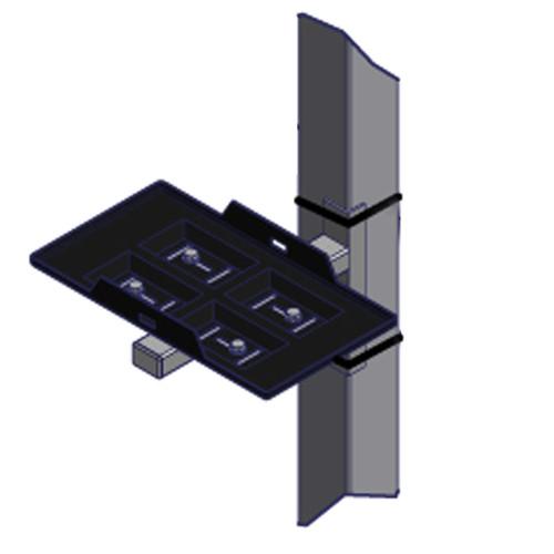 Battery Tray Kit - Lift Leg Mount
