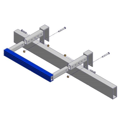 Adjustable Motor Stop | Straight Rack