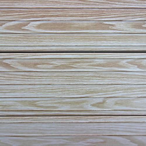 Gray Oak Woodgrain Decking