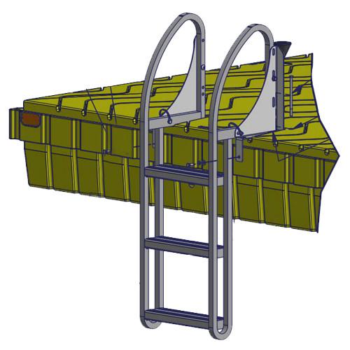 Swim Raft 3-Step Ladder