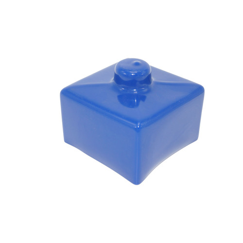 Cap #9 Blue - 3.425 x 3.425 x 2.0
