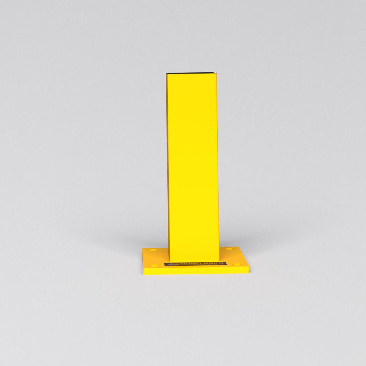 "RR-CS-1 - 18.5"" Guardrail Column with Standard Baseplate"