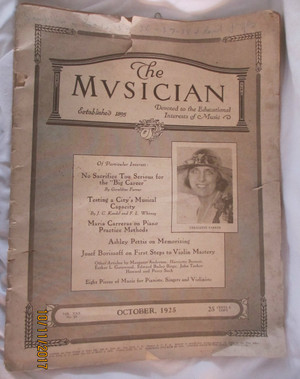 "Music Magazine ""The  Mvsician'"