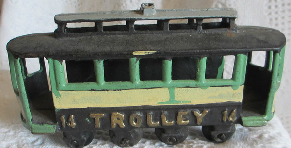 Cast Iron Toy Trolley