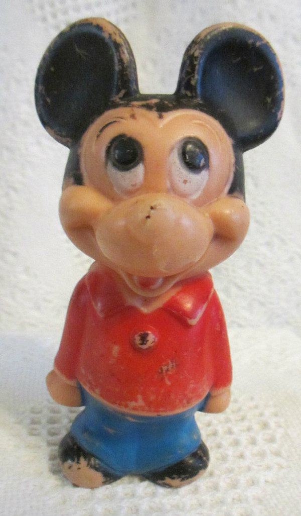 Vintage Plastic Mickey Mouse