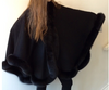 Fox Trimmed Cape