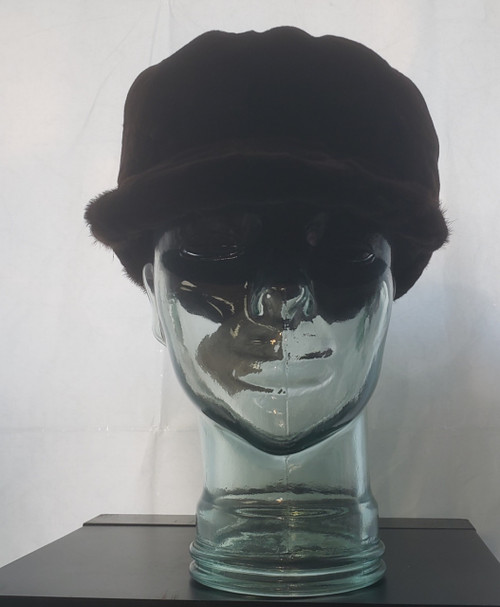 Baseball Cap in mink