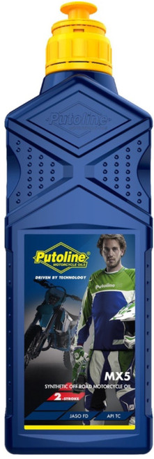 Putoline mx5 two stroke oil