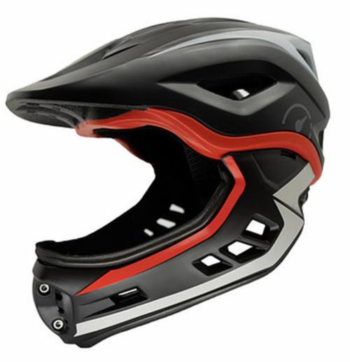 Kids Black revvi super light weight helmet