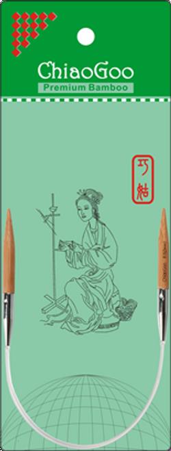 """ChiaoGoo Bamboo Circ - 9"""""""