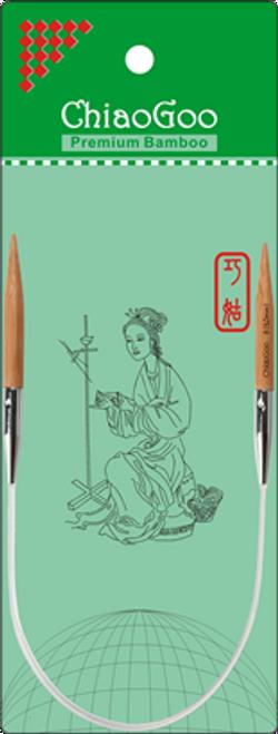 """ChiaoGoo Bamboo Circ - 12"""""""