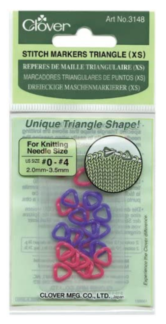 Clover Stitch Markers XS 3148