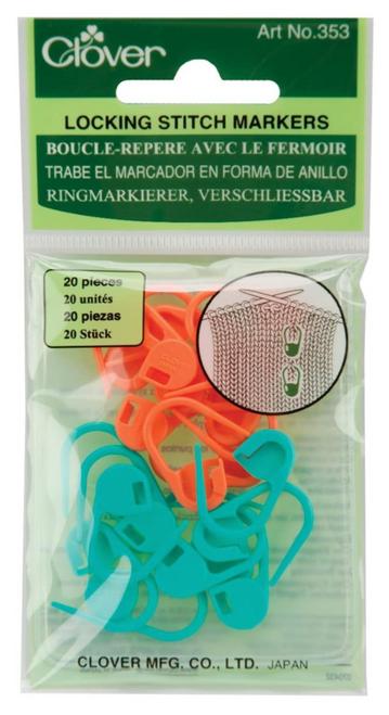 Clover Locking Stitch Markers 353