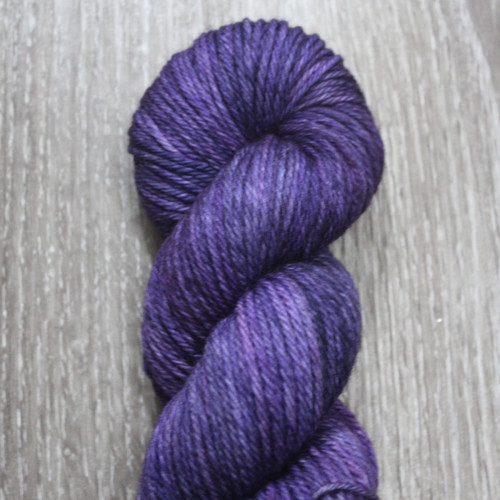WoolRx Yarns - Wicked Worsted in Purple Passion