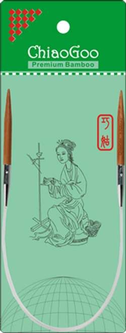"""ChiaoGoo Bamboo Circ - 16"""""""
