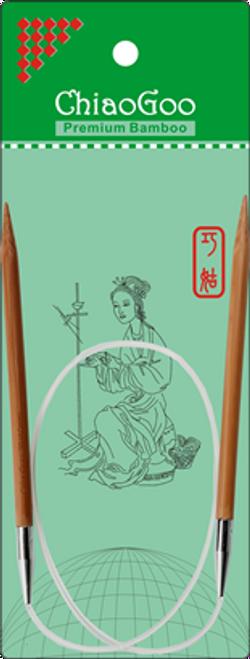 """ChiaoGoo Bamboo Circ - 24"""""""