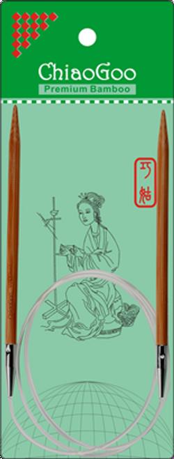 """ChiaoGoo Bamboo Circ - 40"""""""