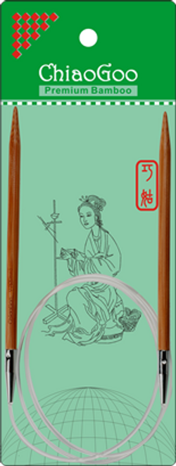 """ChiaoGoo Bamboo Circ - 32"""""""