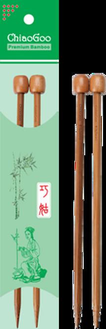 "ChiaoGoo Bamboo Straight - 9"""