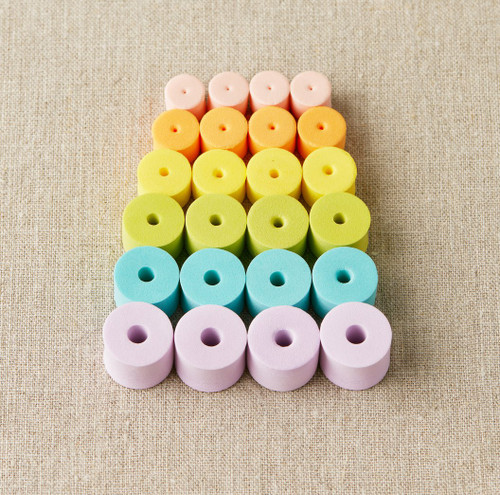 Coco Knits Colorful Stoppers